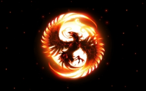 """Hrmph, a phoenix is the best you could come up with, darling? At least try for a salamander or a dragon or something."""